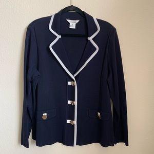 Misook • Navy blazer